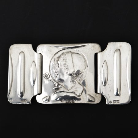 Kate Harris silver buckle
