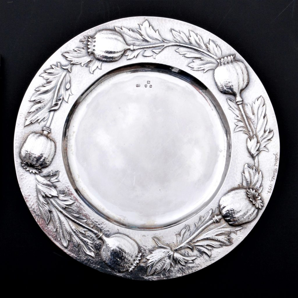 Gilbert Leigh Marks silver, Gilbert marks arts crafts silver