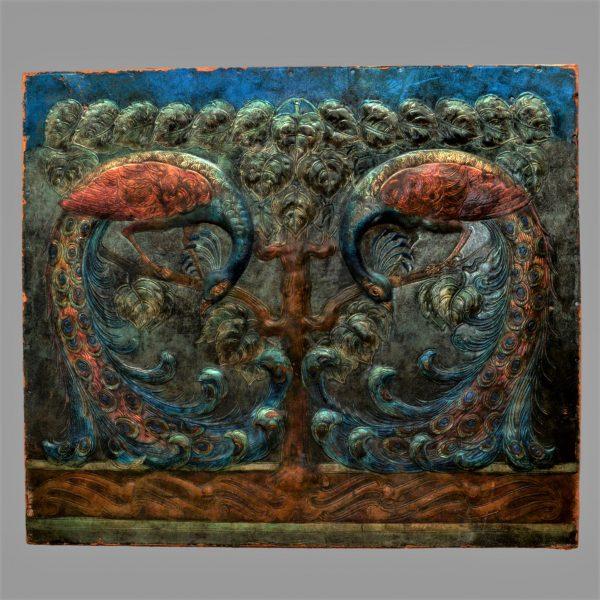 Anna boberg artist, repousse arts crafts leather