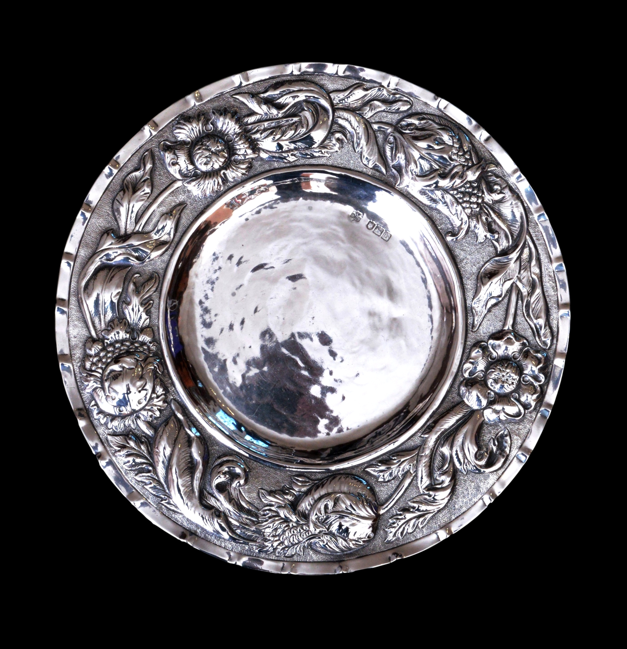 connell of cheapside silver, Connell silver dish