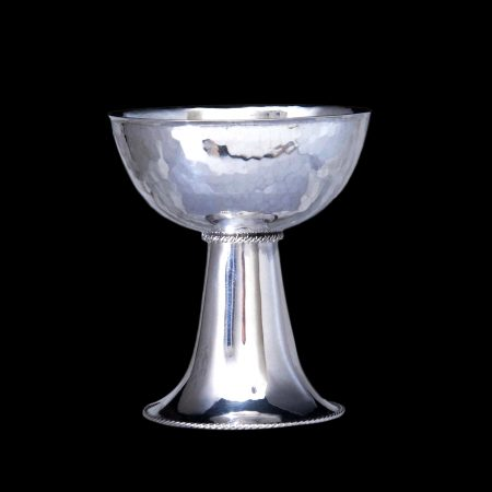 arts crafts silver chalice