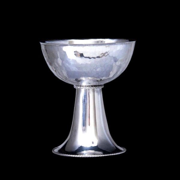 arts crafts silver chalice
