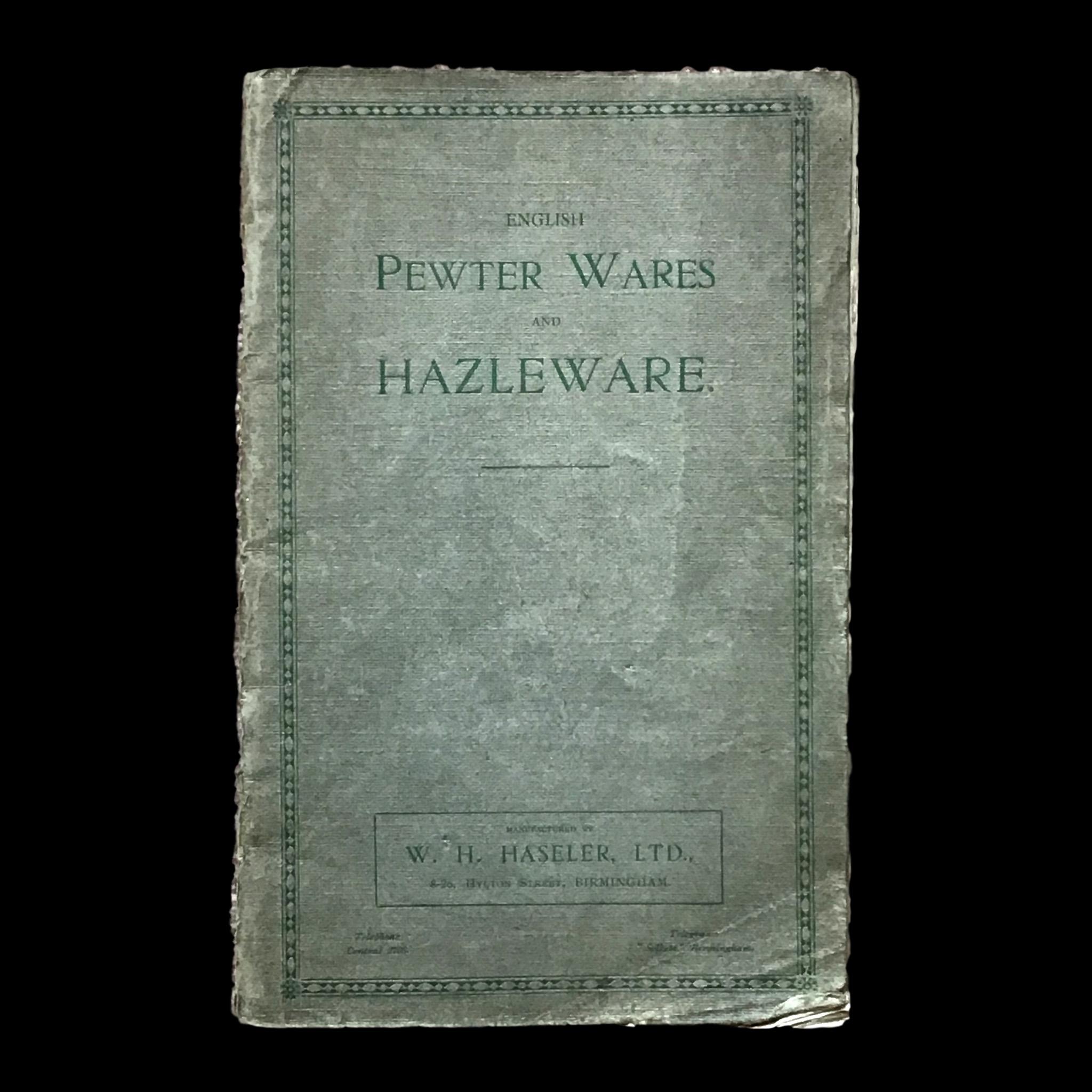 New Haseler/Tudric/Hazleware pewter research