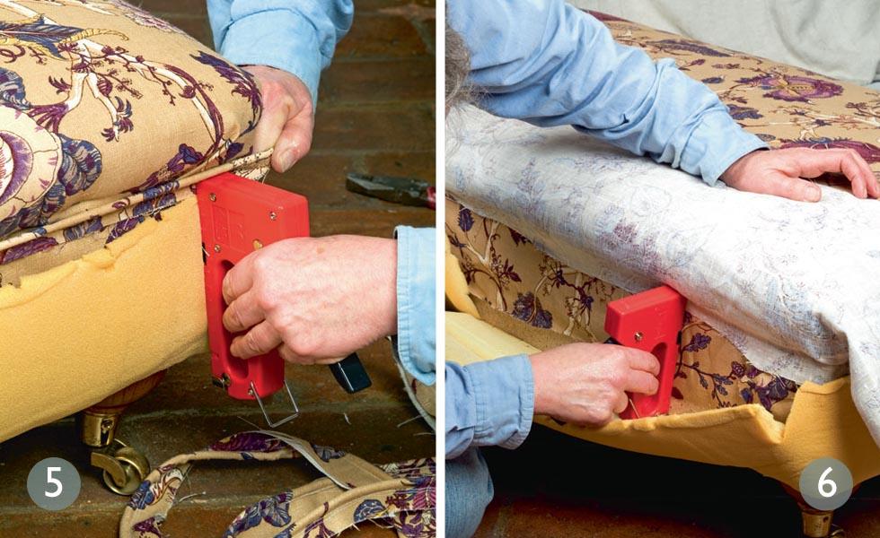 Add a decorative piping; Cover the bottom half