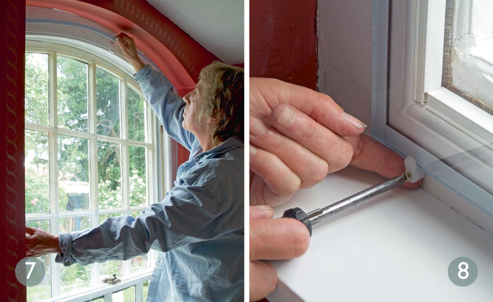 Line up the new pane; Use extra support for big windows