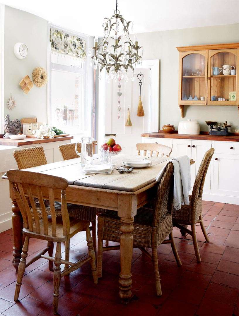 The Kitchen In Victorian Edwardian Home