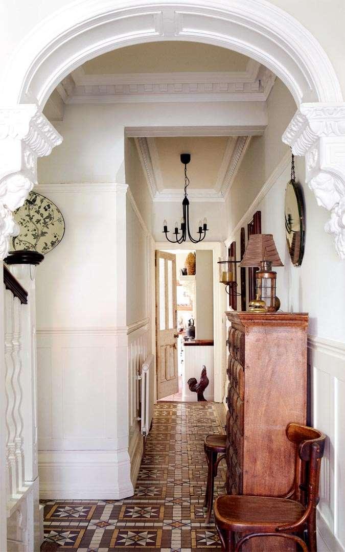 Hallway In Victorian Edwardian Home