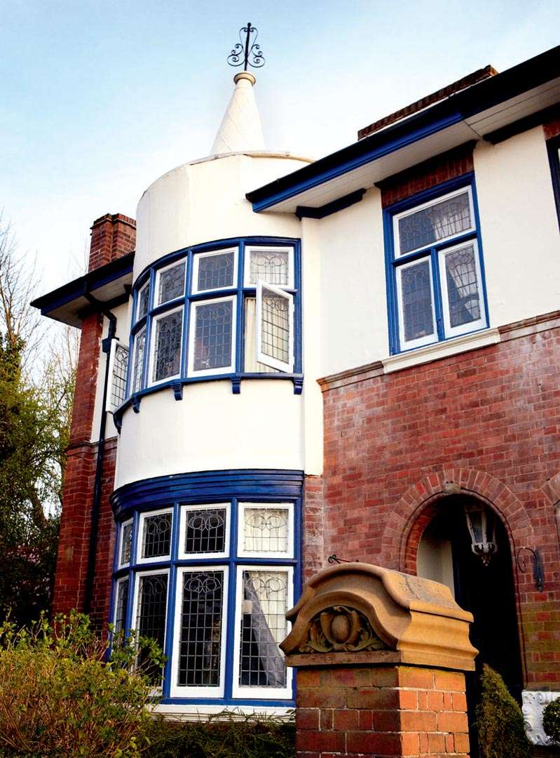 Exterior of Victorian Edwardian house