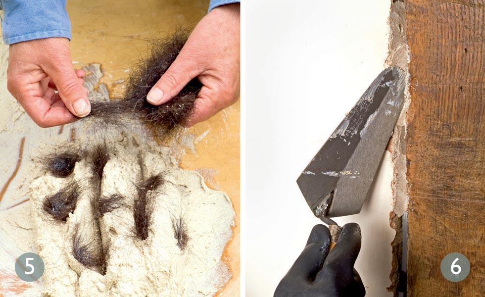 Animal Hair Plaster : Plaster patch repair period living