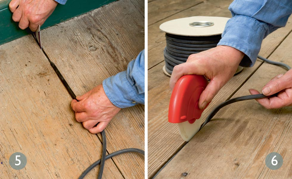 How To Fix Draughty Floorboards Period Living