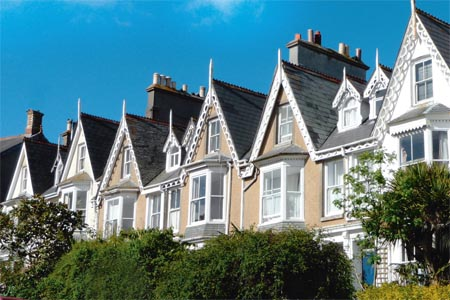 Victorian slate roofs