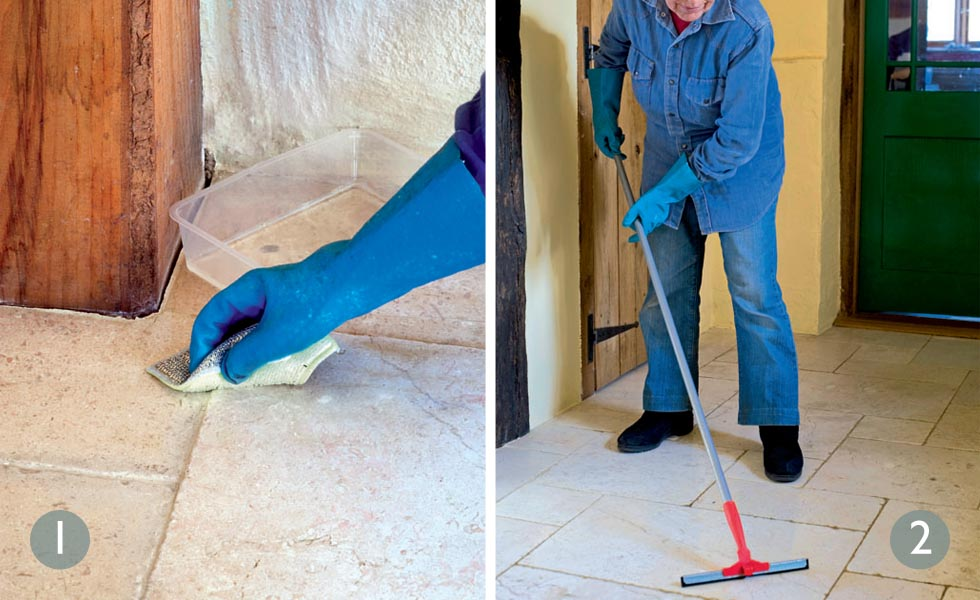 How To Clean Stone Floor Tiles Period Living