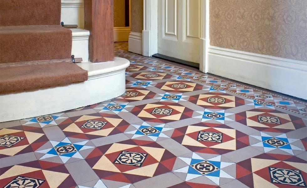 Attractive Minton Style Floor Tiles Model Best Home Decorating