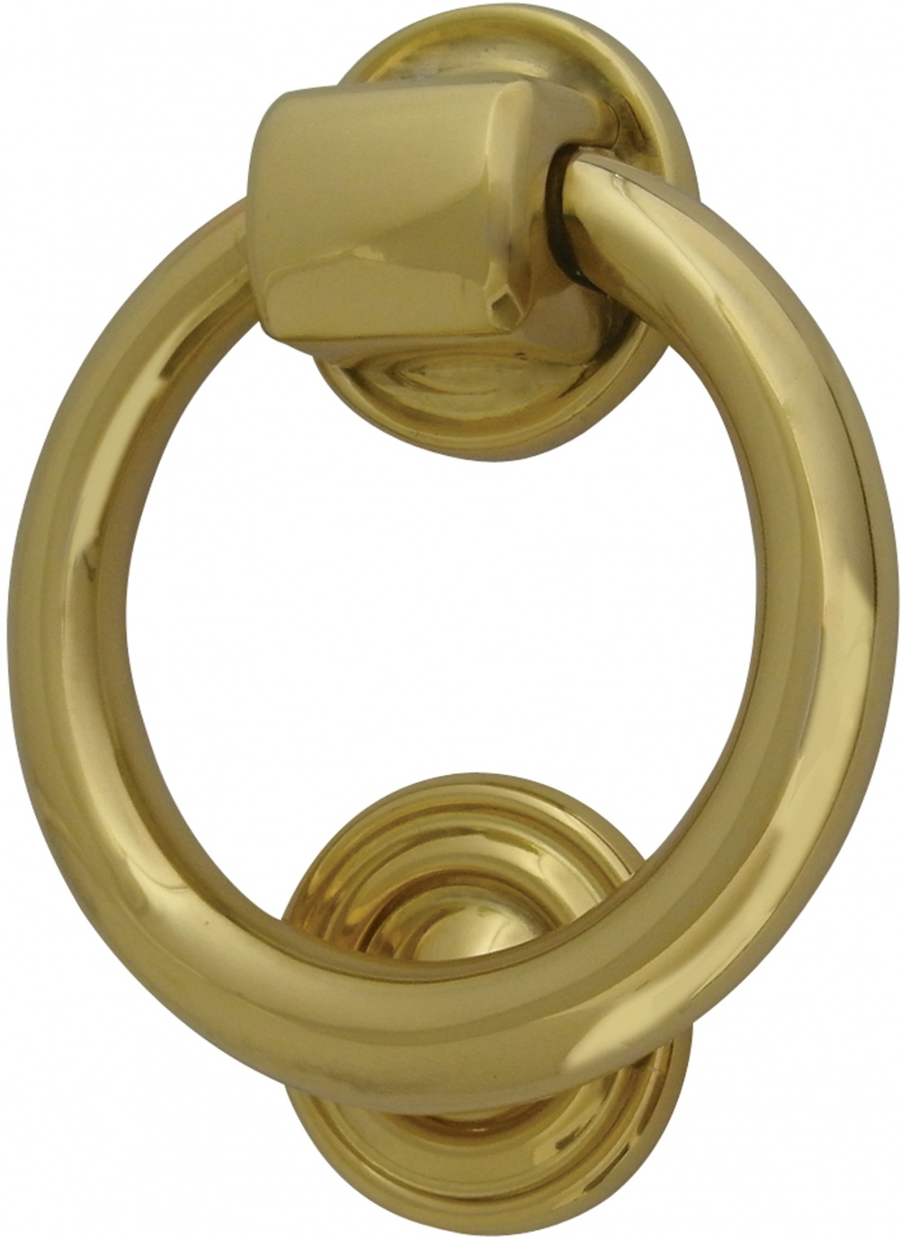 Classic Ring Brass Door Knocker