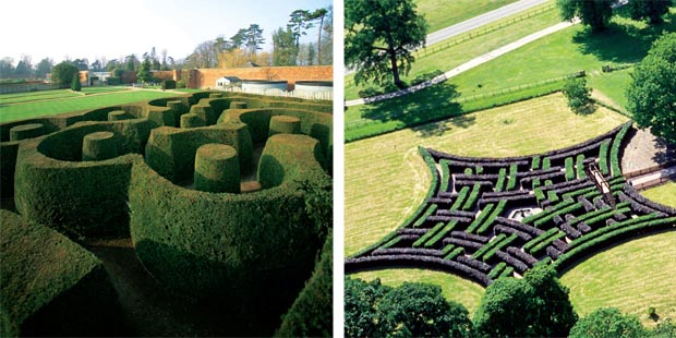 garden mazes in england garden ftempo. Black Bedroom Furniture Sets. Home Design Ideas