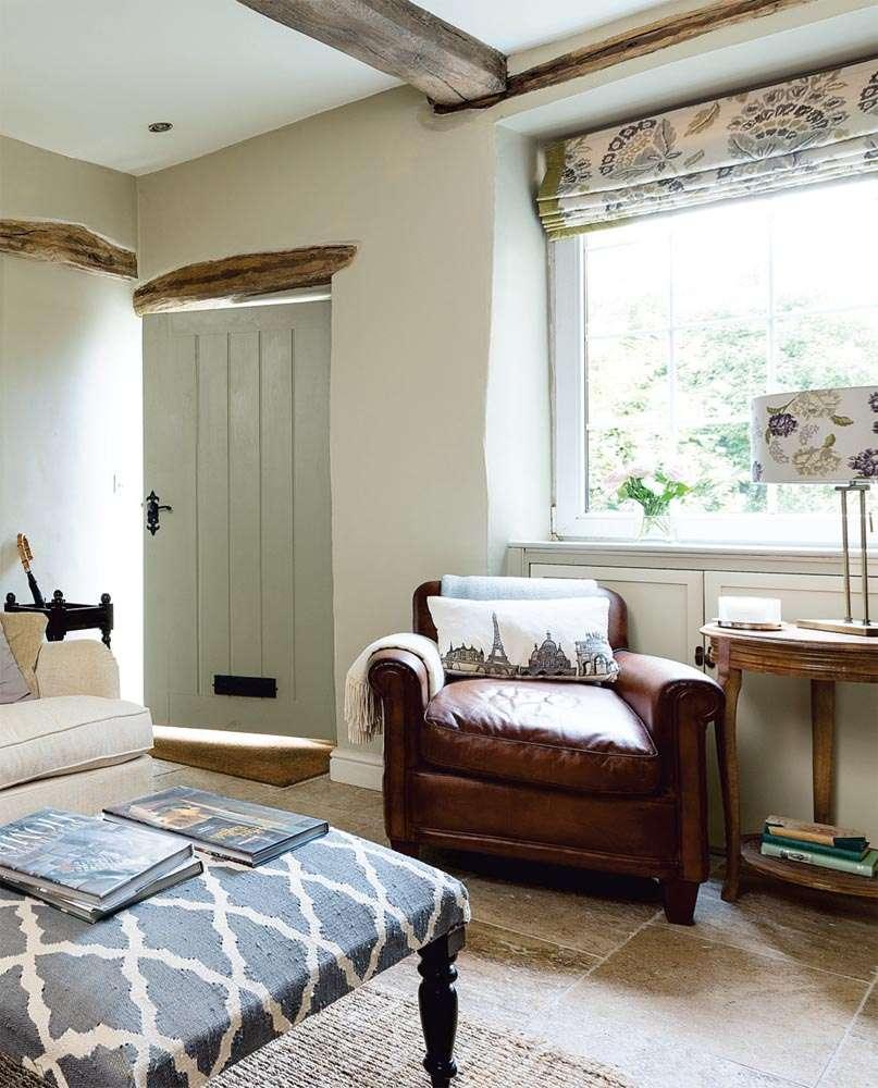 modern cottage interior design ideas. entrance to traditional yorkshire cottage modern interior design ideas