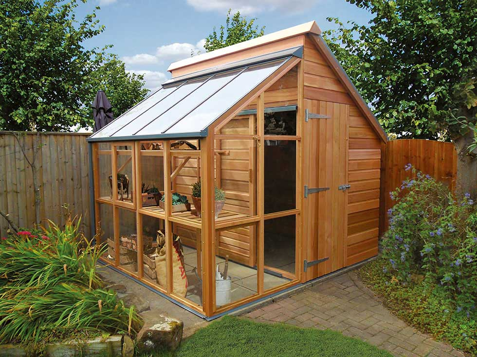 Buying the right greenhouse period living Green house sheds
