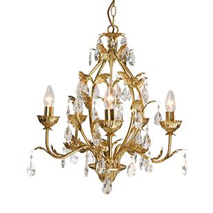 Delvine chandelier from Chandelier & Mirror Company