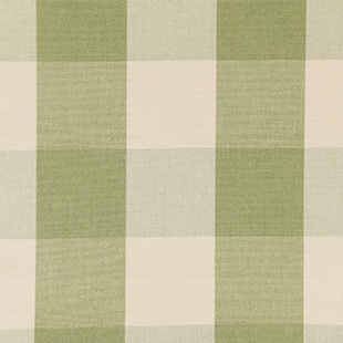 Avon Check fabric in Sage from Ian Mankin