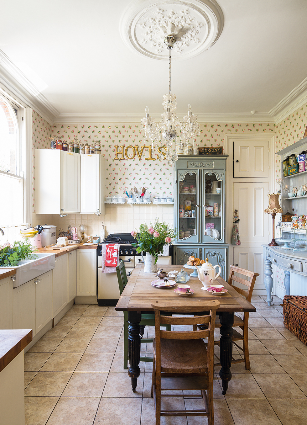 Country style shaker kitchen