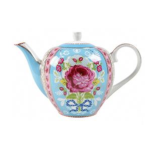 Blue rose teapot from Pip Studio
