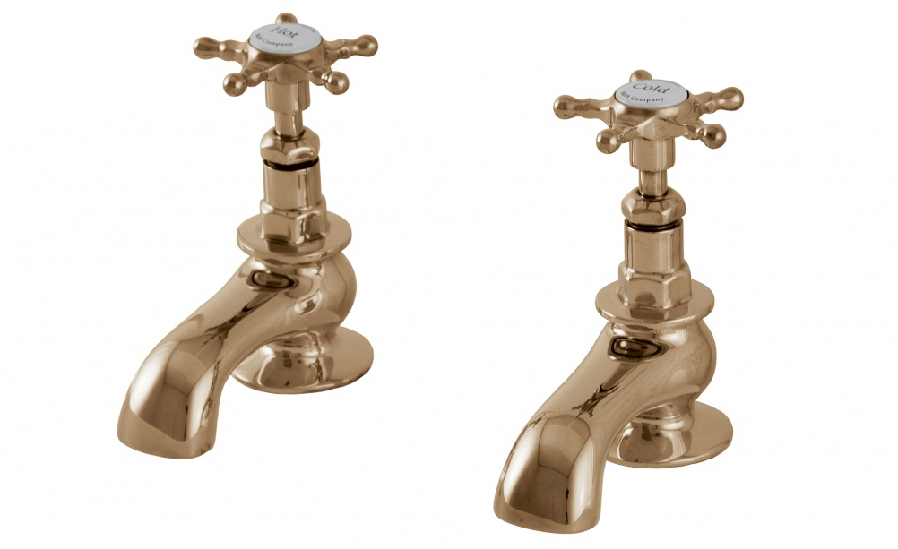 Solid brass faucets from Hurlingham Baths