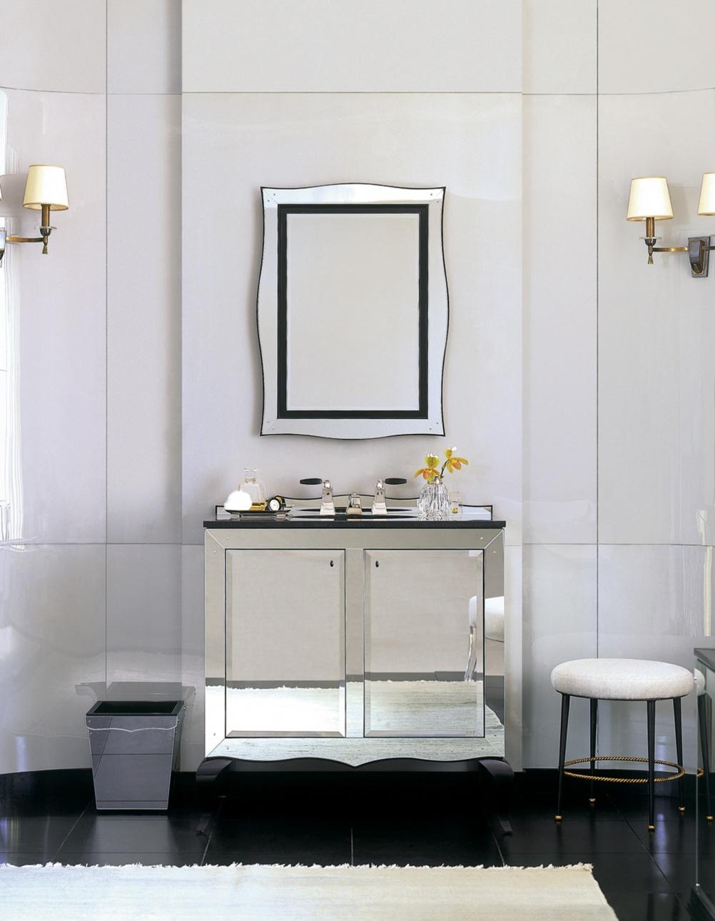 Barbera Berry vanity unit from Ann Sacks