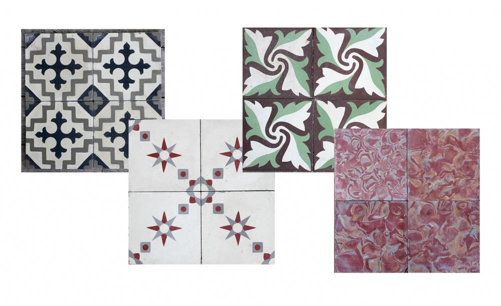Raciones antique tiles from Bert & May