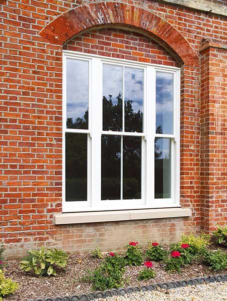 Lomax & Wood Kensington and Chelsea range box sash window