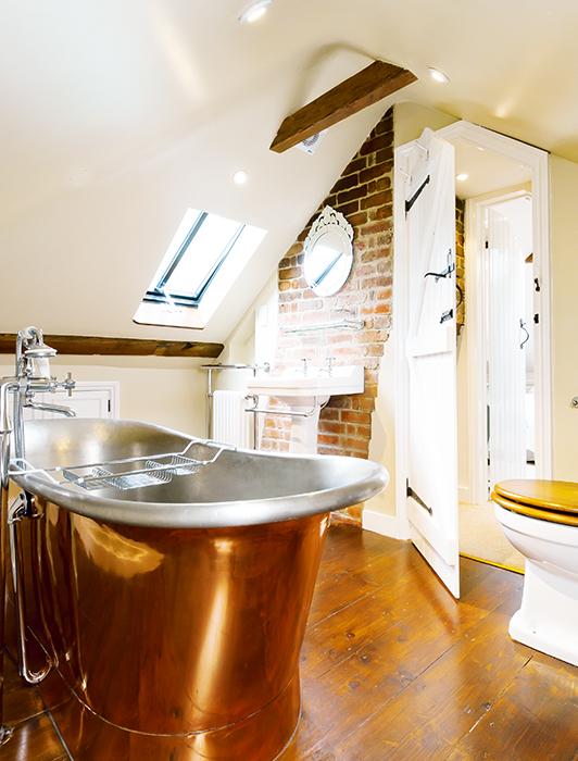 bathroom-with-copper-bath-loft