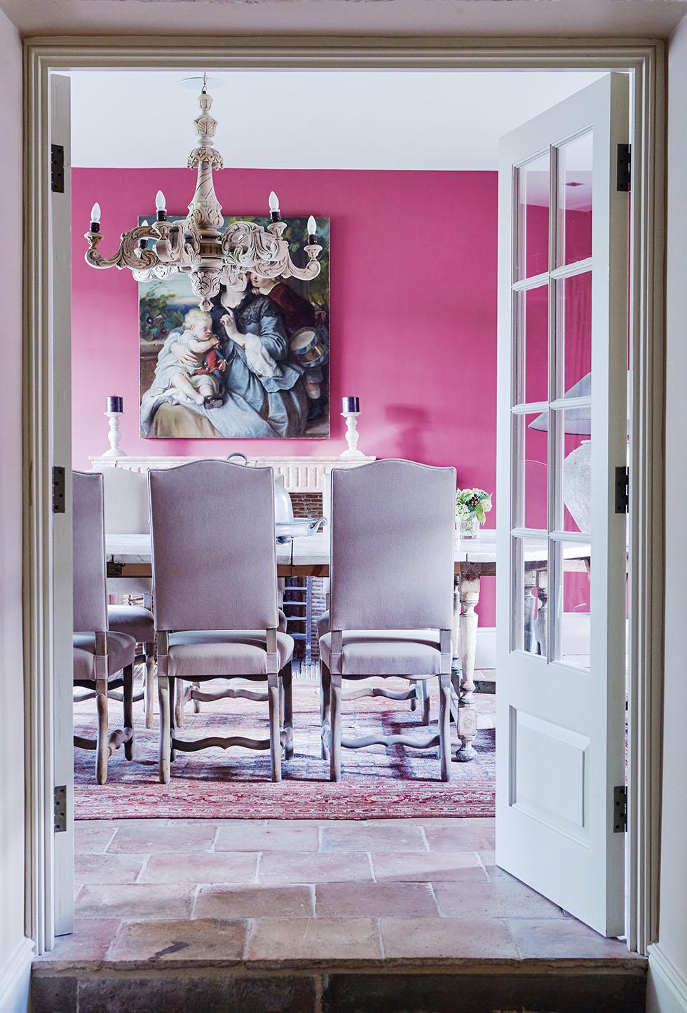 kemink-pink-traditional-dining-room
