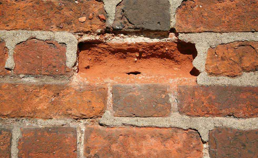how to stop brick spalling