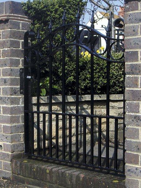 garden gate wrought iron gate company