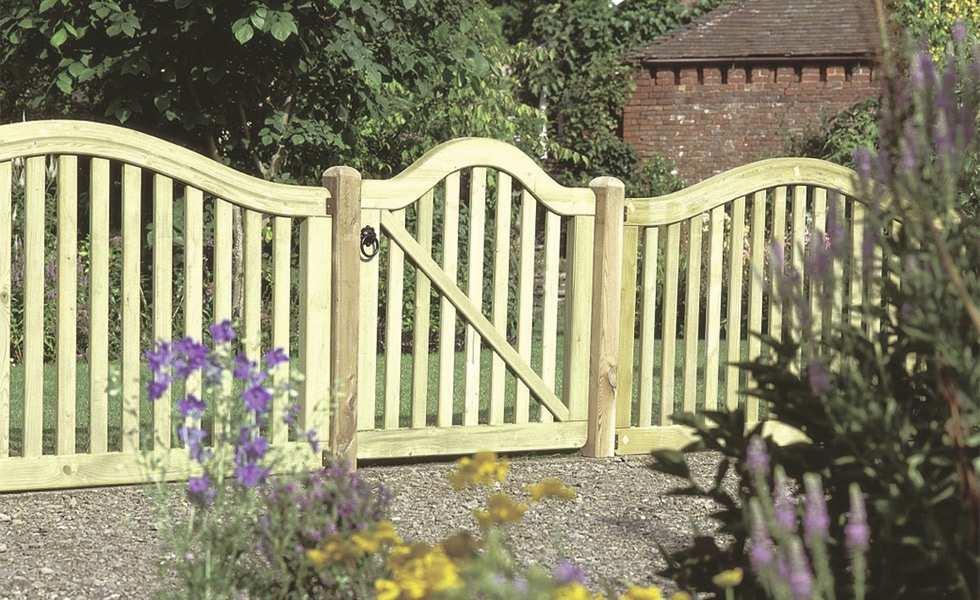 garden gate forest garden