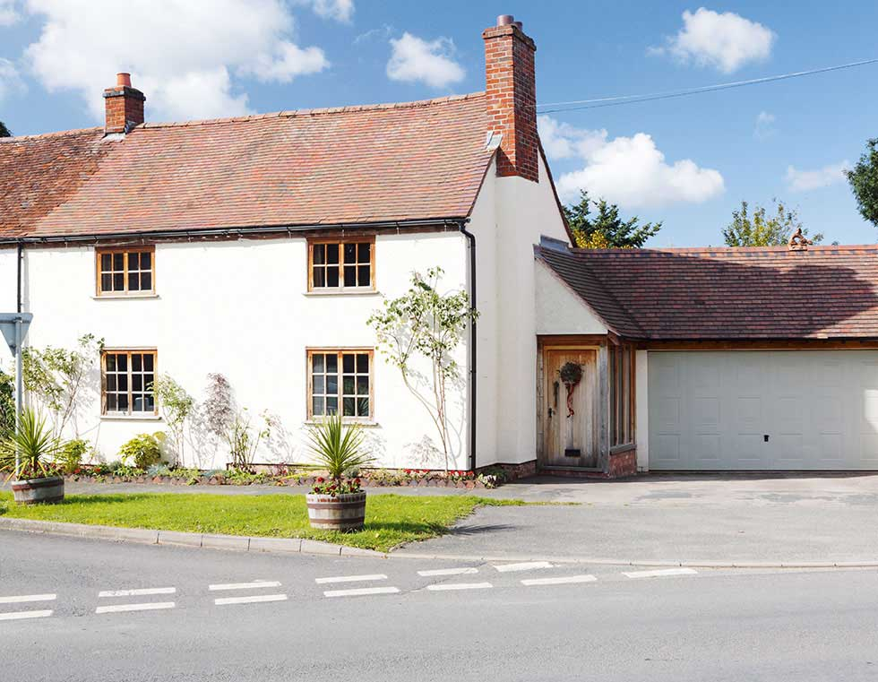 two cottages combined conservation area worcestershire