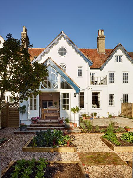 Westbury garden room extension to Victorian home