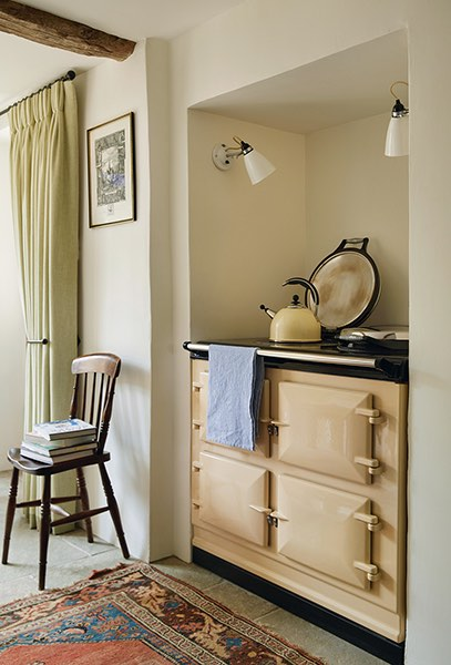 cotswold house renovation aga cooker cream