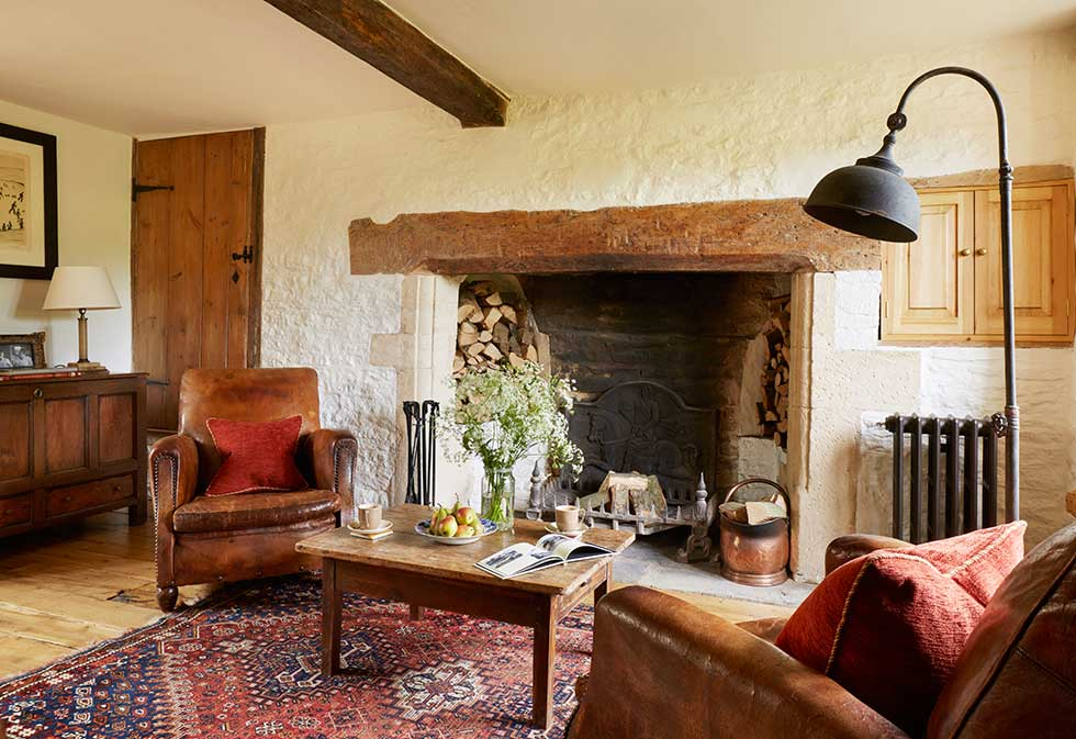 country cottage living rooms renovation of a cotswold country home period living 15643