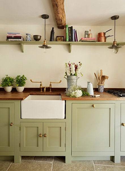 cotswold house renovation country kitchen sink
