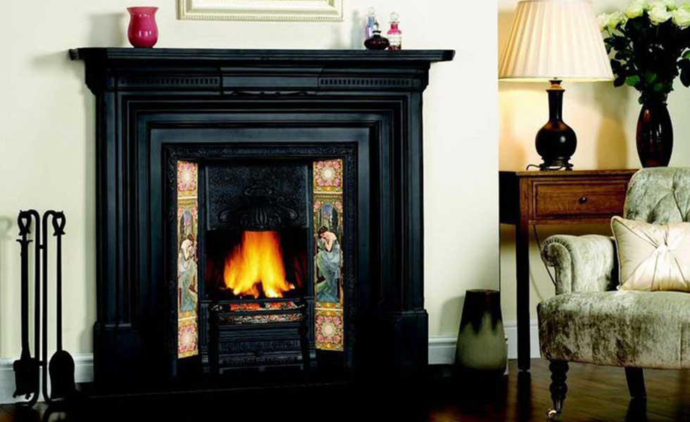 Period fireplace and surround renovation