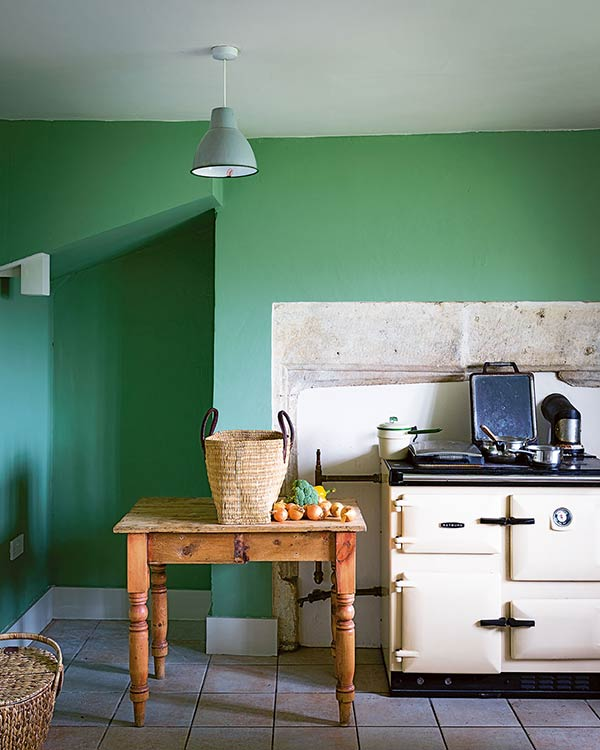 How To Decorate With Colour Period Living - Calke green farrow and ball