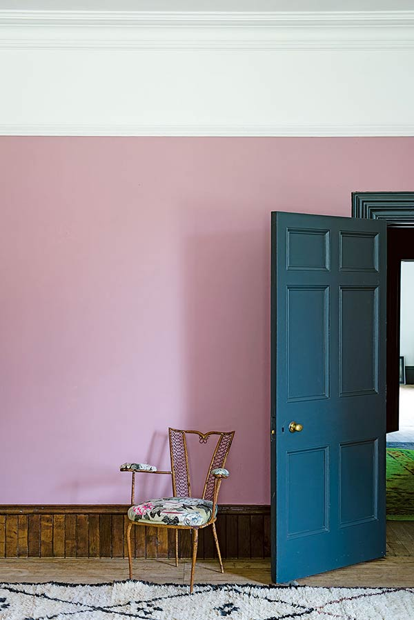 farrow and balls cinder rose colour pink paint