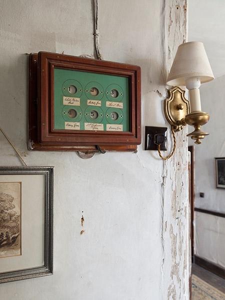 chastelton house servants room bells
