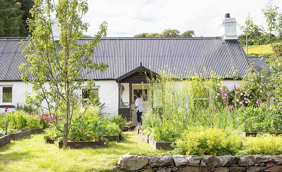 a coastal 18th century highland croft cottage