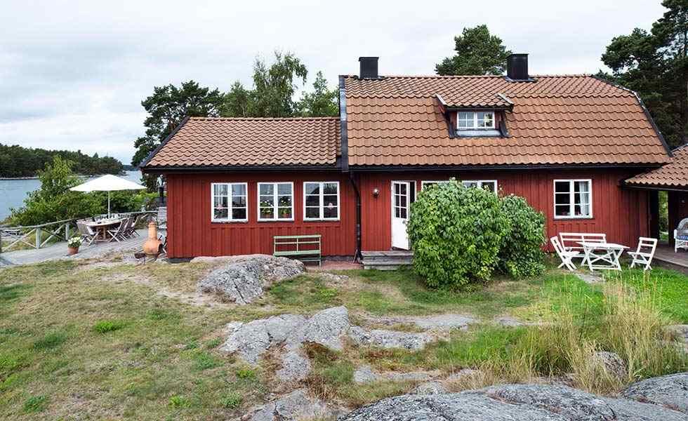 coastal Swedish house