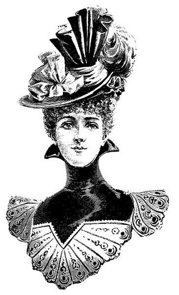 victorian slang for a talkative woman