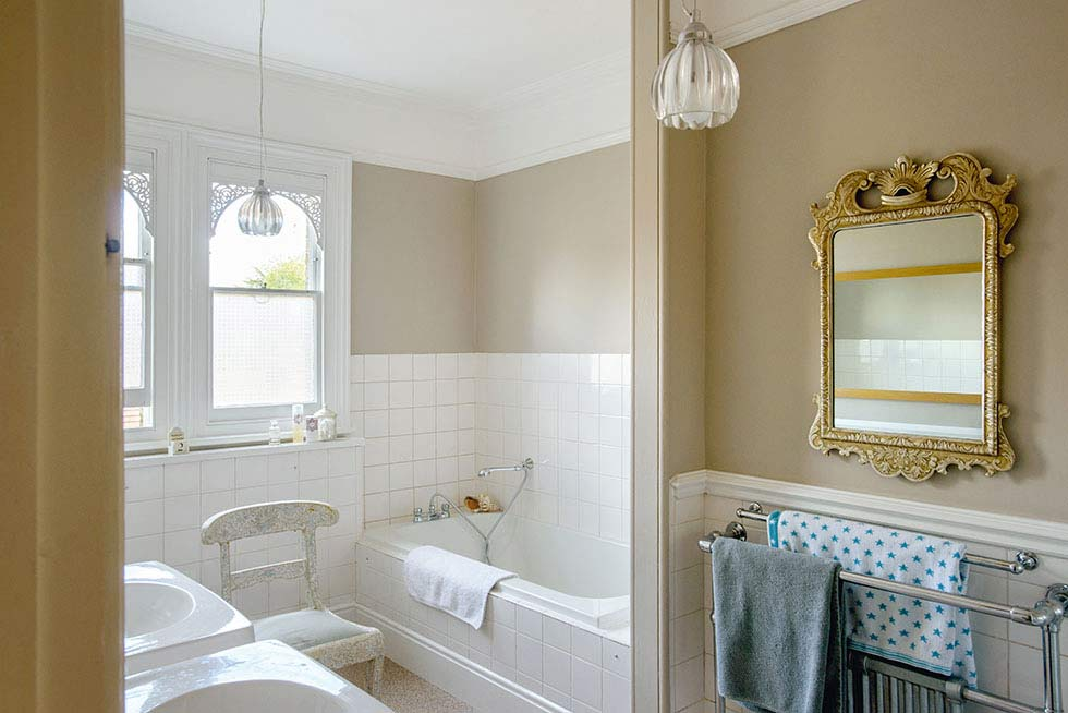 Victorian south london house bathroom