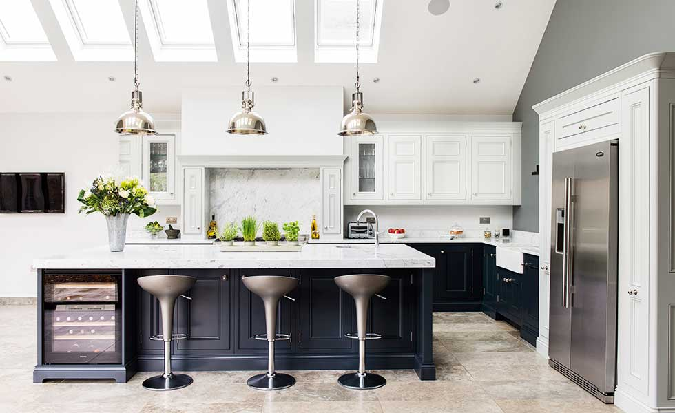 18 kitchen extension design ideas period living for Edwardian kitchen