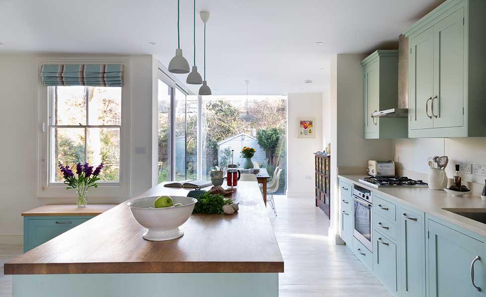 18 kitchen extension design ideas period living for Open plan kitchen ideas uk