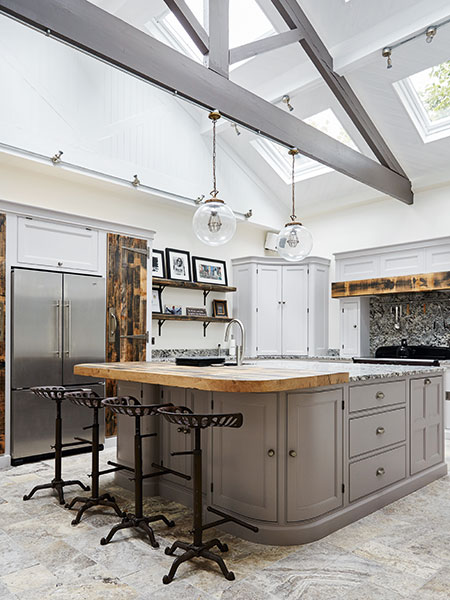 18 kitchen extension design ideas period living for Industrial style kitchen uk